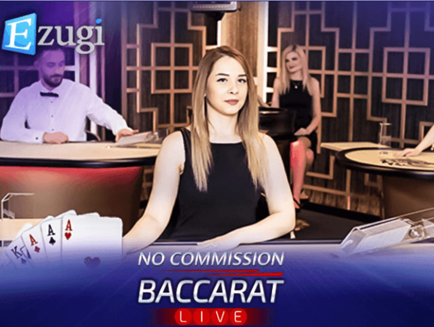 Ezugi No Commission Baccarat